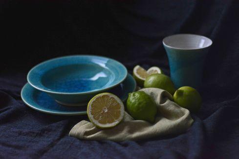 Zitronen mit Keramik 2